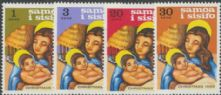 Samoa SG315-8 Christmas 1968 set of 4